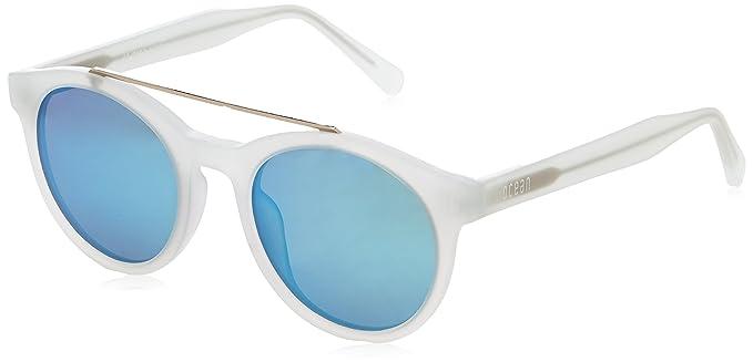 Ocean Unisex-Erwachsene Sonnenbrille Eye, Blau (Blu Trasparente), 58