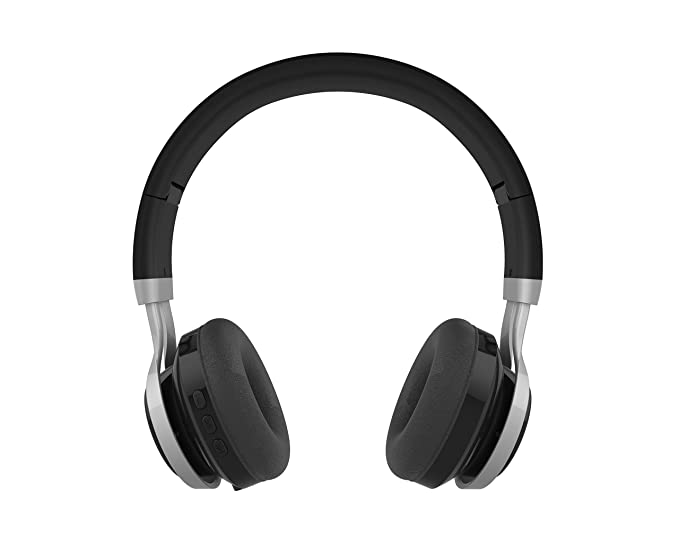 879b8c4e080 GabbaGoods Over Ear Wireless Foldable DJ Headphones for All Bluetooth  Enabled Devices, iPhones, Smartphones