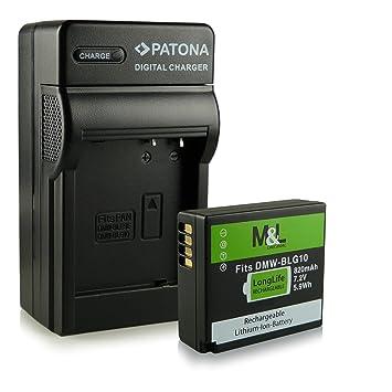 Cargador + Batería DMW-BLG10 BLG10E para Panasonic Lumix DMC ...