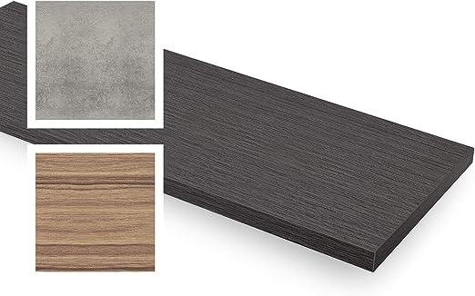 Width Range empasa Fensterinnenbank Fensterbank Design-Fensterbank INNEN inkl 150-400 mm Length Range Ausladung Kantenschutz MDF Dark Oak L/änge 250-2000 mm
