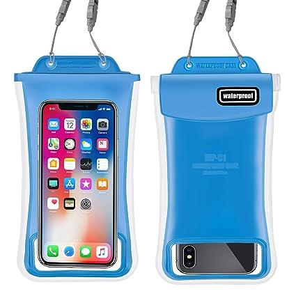 Amazon.com: Funda para teléfono impermeable, 2 unidades de ...