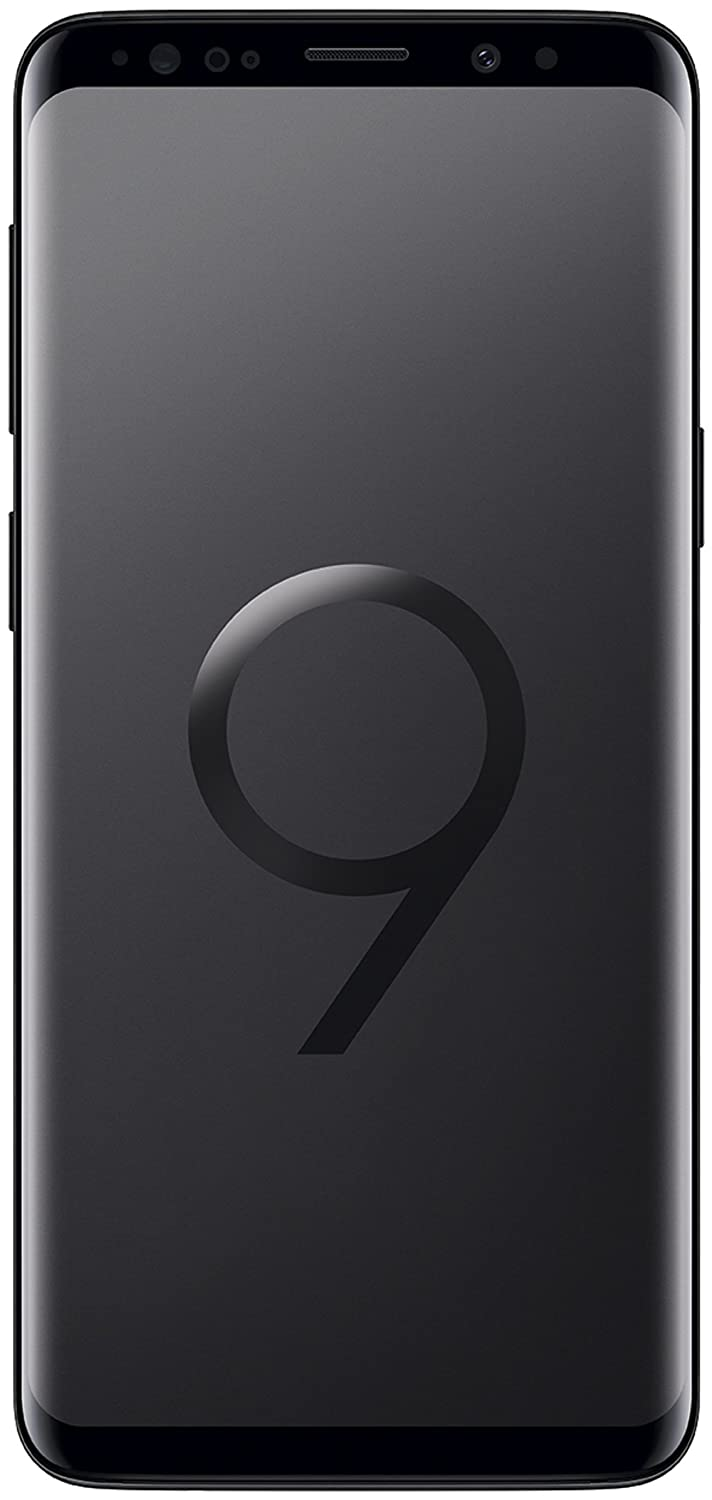 Samsung Galaxy S9 (Single SIM) 64 GB 5.8-Inch Android 8.0 Oreo UK Version SIM-Free Smartphone - Midnight Black