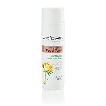 Wildflowers Pore Refining Facial Toner, 8.5 Oz Clay Face Mask to Foaming Cleanser Trio by Dr. Jart+ (pack of 2)