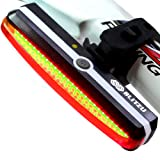 Amazon Price History for:Ultra Bright Bike Light Blitzu Cyborg 168T USB Rechargeable Bicycle Tail Light. Red High Intensity Rear LED Accessories Fits On Any Road Bikes, Helmets. Easy To Install for Cycling Safety Flashlight