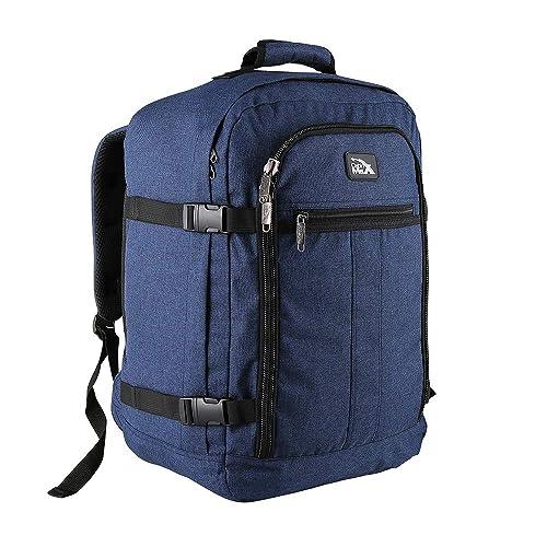 Cabin Max Mini Metz 30 Litre Travel Hand Luggage Backpack – 45 x 35 x 20 cm (Atlantic Blue)