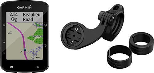 Garmin Edge 520 Plus Mountain Bike Bundle, GPS Cycling Bike Computer for Competing and Navigation, Includes Mountain Bike Mount