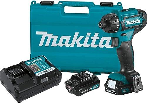 Makita FD10R1 12V max CXT Lithium-Ion Cordless 1 4 Hex Driver-Drill Kit 2.0Ah
