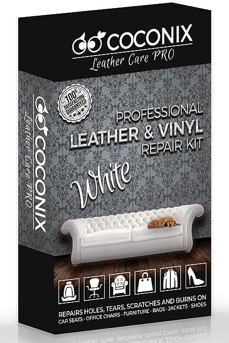 Amazon com: Coconix White Leather and Vinyl Repair Kit