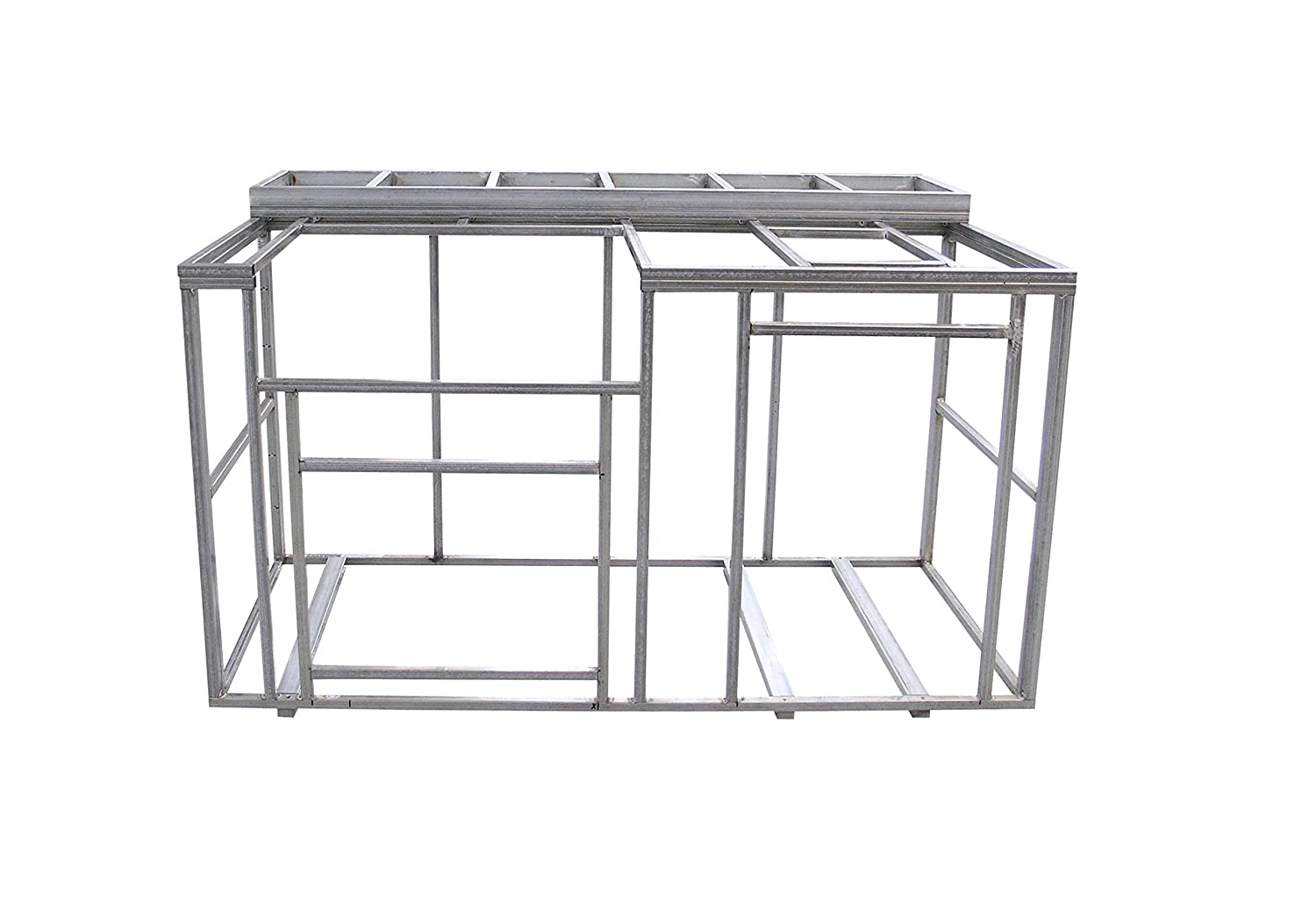 Amazon.com : Cal Flame 6\' Outdoor Kitchen Island Frame Kit with ...