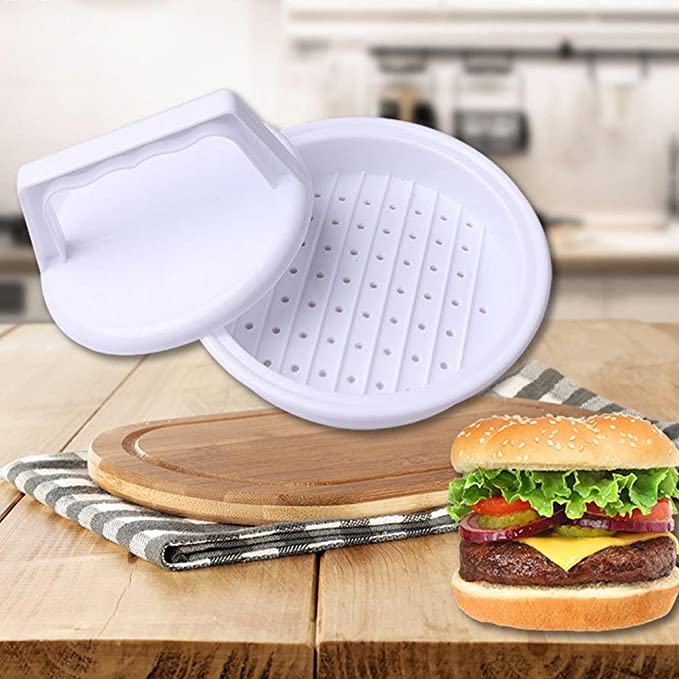 Compra Dealglad® DIY Moldes Hamburguesa Manual de plástico Sandwich Molde de prensa de pastel de carne hamburguesa Making Tool en Amazon.es