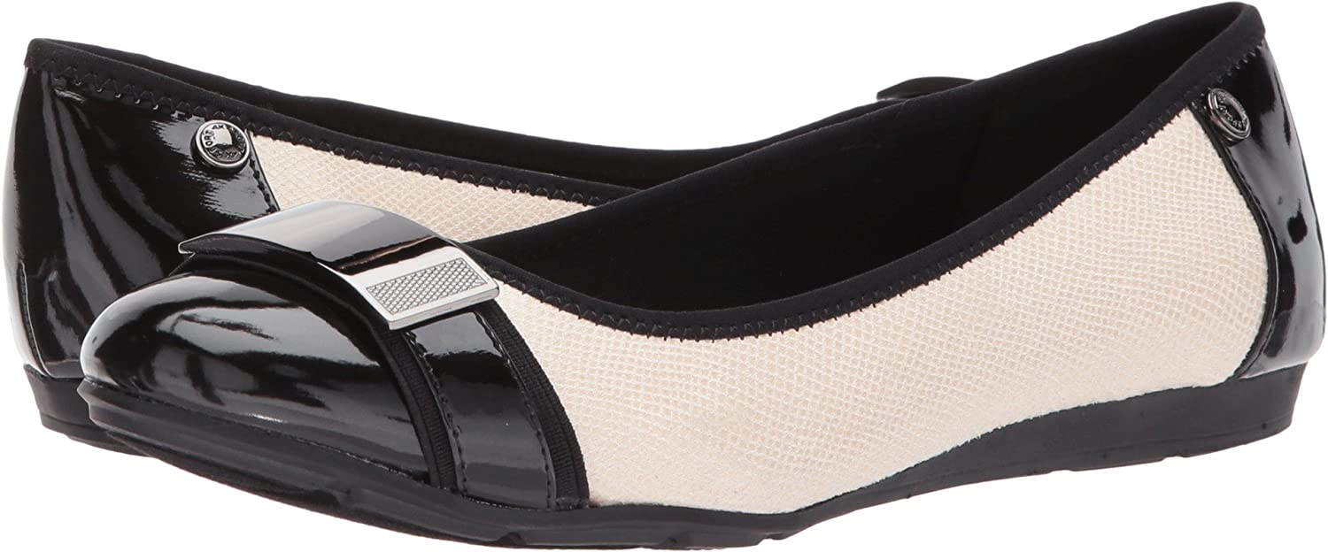 Anne Klein Womens Adette B075MKD3B3 6 B(M) US|Vanilla Cream/Black