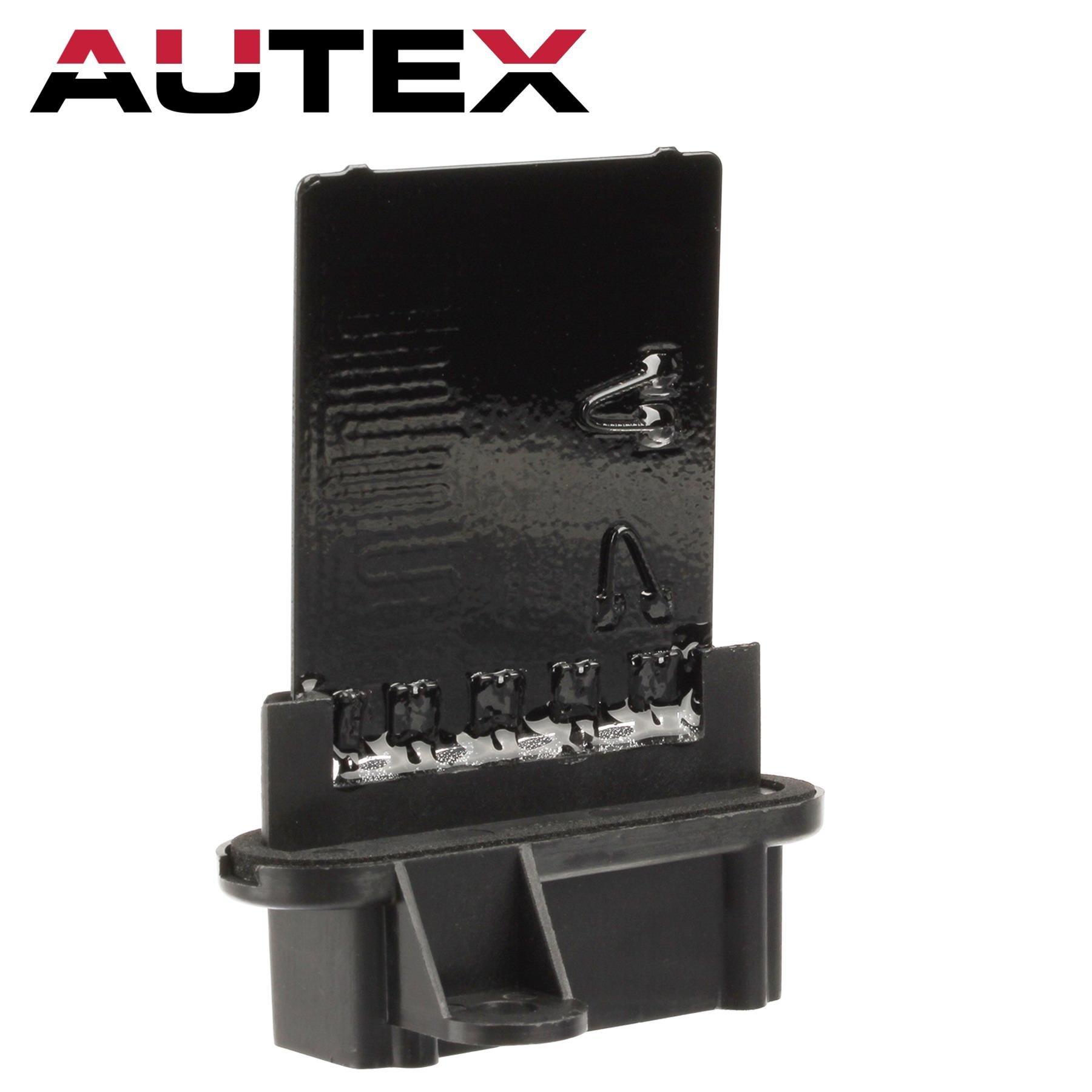 AUTEX HVAC Blower Motor Resistor Module 5139719AA RU-352 5066552AA 973-025 Replacement for 2002 2003 2004 2005 2006 2007 Jeep Liberty 2002 2003 2004 2005 2006 Jeep Wrangler