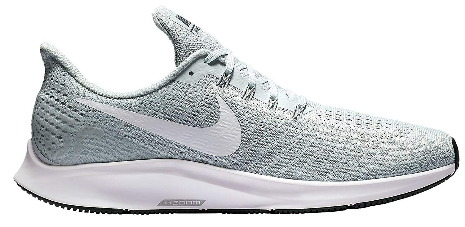 Nike Men's Air Zoom Pegasus 35 Running Shoe Pure Platinum/White/Wolf Grey 6 M US by Nike (Image #1)