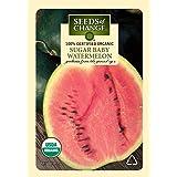 Seeds of Change Certified Organic Watermelon, Sugar Baby - 1.2 grams, 30 Seeds Pack