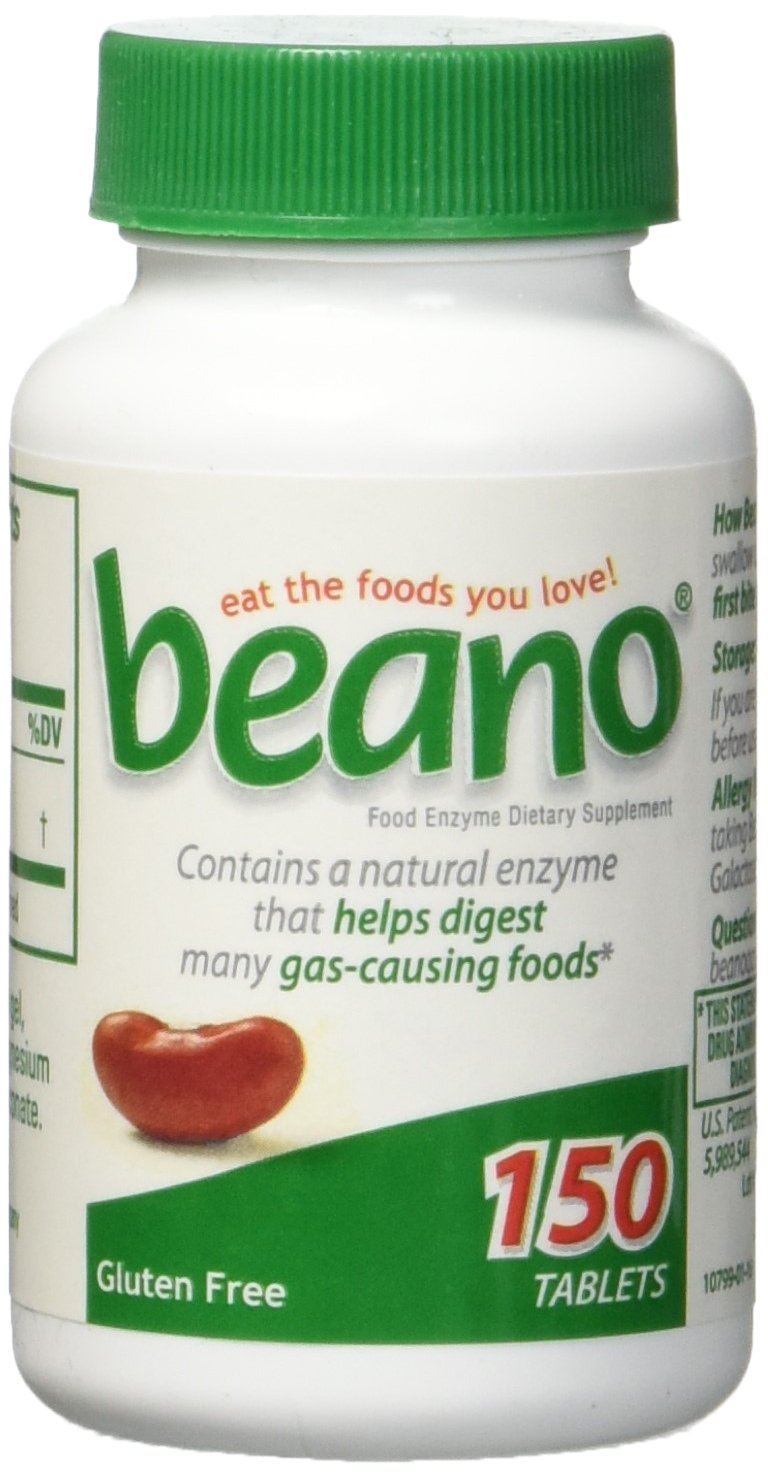 Beano Gas Relief Digestion (150 tablets) (150 tablets (1 bottle))