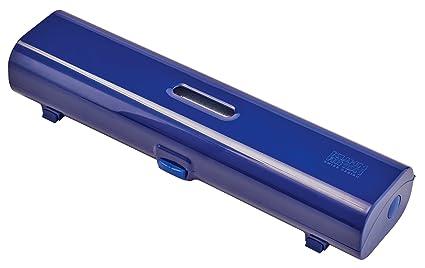 KUHN RIKON Fast Wrap - Accesorio de hogar (Dispensador de Film Transparente, Azul,