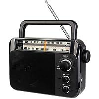 Retekess TR604 Radio Portable Radio AM/FM 2 Band Radio Support Dry Battery Power + AC Power Supply radios Portable with…