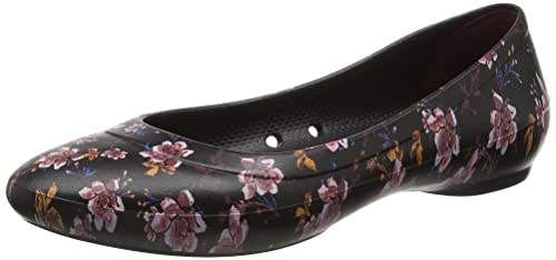 1e5c583710f9db crocs - Women s Lina Graphic Ballet Flat