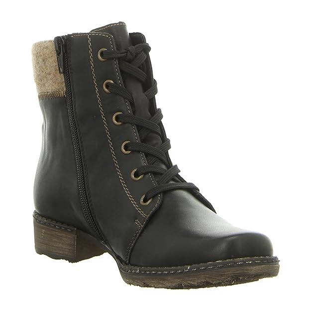 Remonte D4390-01, Bottes pour Femme - noir - noir,