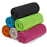 FITVC Cooling Towel-Evaporative Fast Cooling Towels Ice Scarf Bandana Neck Cooler For Sports Yoga Gym Fitness