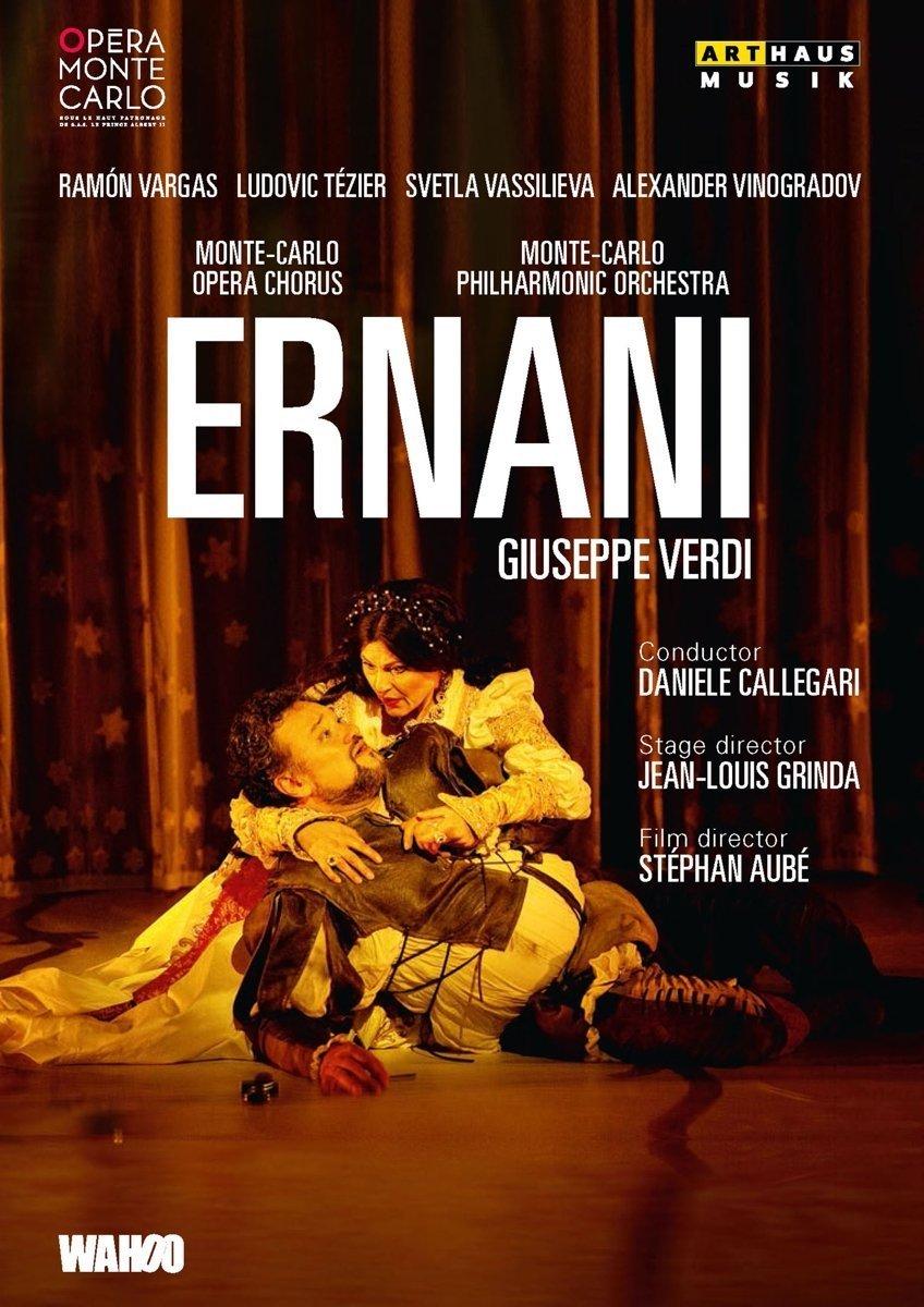 DVD : VERDI GAS - CALLEGARI - Ernani (DVD)