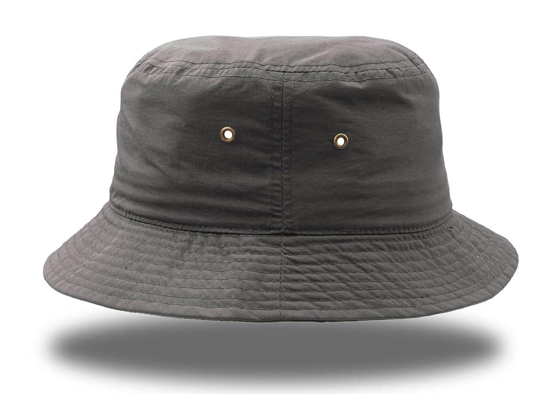 Desert Waterproof Hat Fisherman Hüte Kappen, Chapeaux Cotton Buckle Metal Baseball Cap Hat grey ATLANTIS