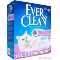 Ever Clean Lavender Clumping kattsand, 10 l, parfymerad
