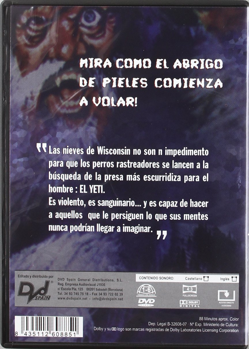 Amazon.com: The Capture of Bigfoot - La Leyenda Del Yeti - Bill Rebane.: Movies & TV
