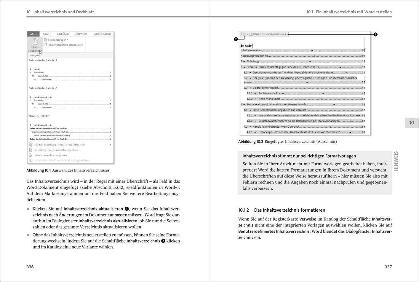 Wissenschaftliche Arbeiten Mit Word 2013 Susanne Franz Amazonde