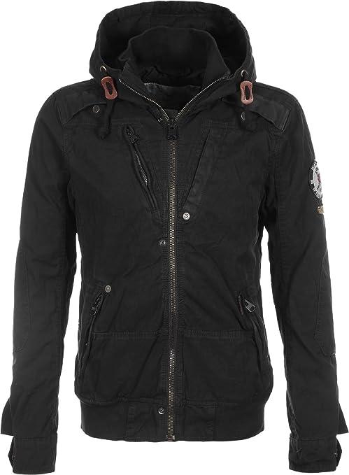 Khujo Rob chaqueta negra, Herren:XXL: Amazon.es: Deportes y ...
