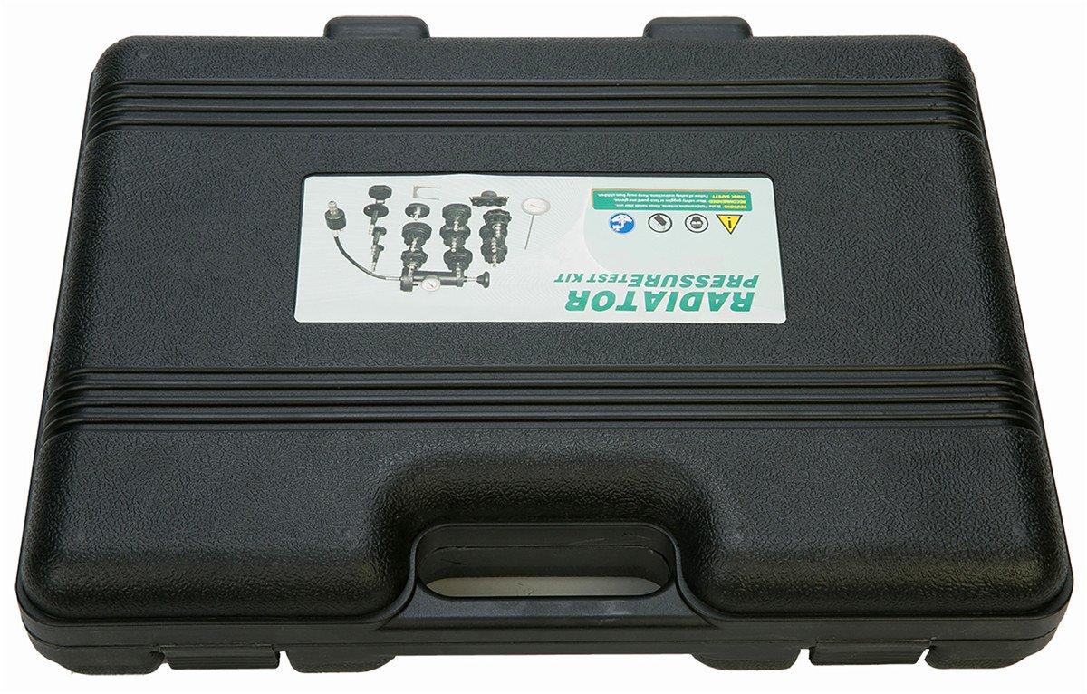 18 Piezas FreeTec Malet/ín de Prueba Para el Sistema de Refrigeraci/ón Del Coche
