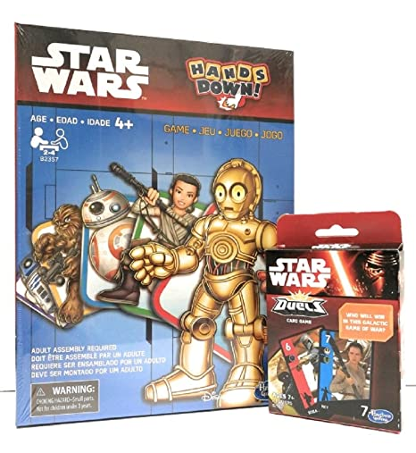 Amazon.com: Star Wars Games - Set of 2 - Duels and Hands ...