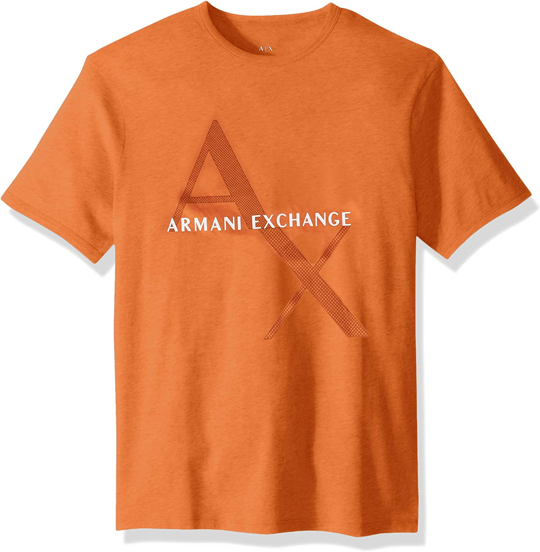 AX Armani Exchange Men's Classic Cotton Logo Tee