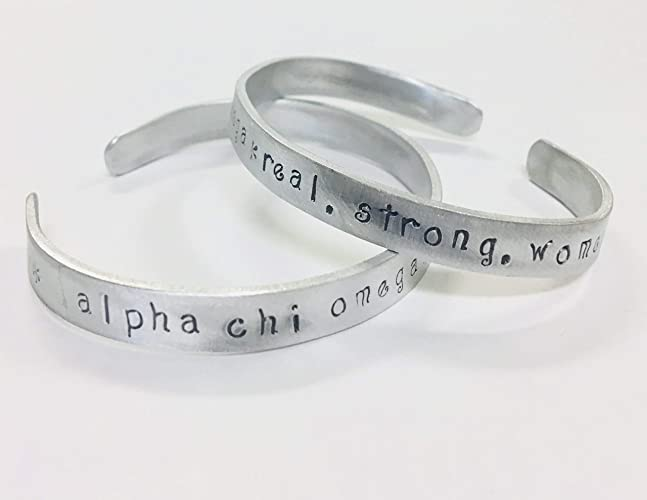 Amazon.com: Alpha Chi Omega, Real. Strong. Women. AXO Greek ...
