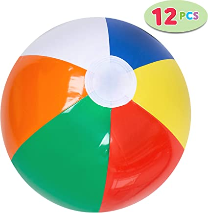20 Inch Brand New /& Sealed Inflatable Beach Balls