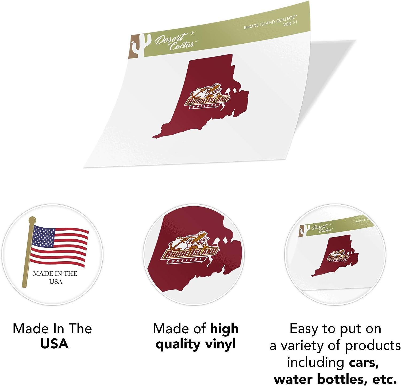 Type 1-1 Sheet Rhode Island College RIC Rams NCAA Sticker Vinyl Decal Laptop Water Bottle Car Scrapbook