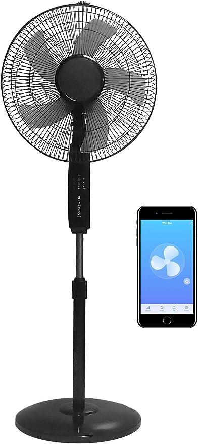 2 Units Renewed O2COOL Portable 5 Inch Fan Grey