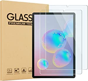 EpicGadget [2-Pack] Glass Screen Protector for Lenovo Smart Tab M8 8 Inch Display Tablet (2019 Release) - Tempered Glass Film/High Definition / 9H Hardness