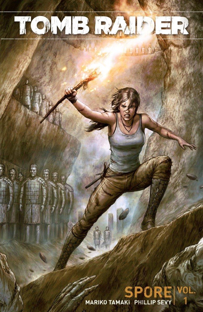 Tomb Raider Volume 1: Spore: Mariko Tamaki: 9781506700106: Amazon.com: Books