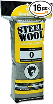 STEEL WOOL MINI PADS WIRE FINE SANDING SMOOTHING CLEAN RUST DIRT GREASE STAIN
