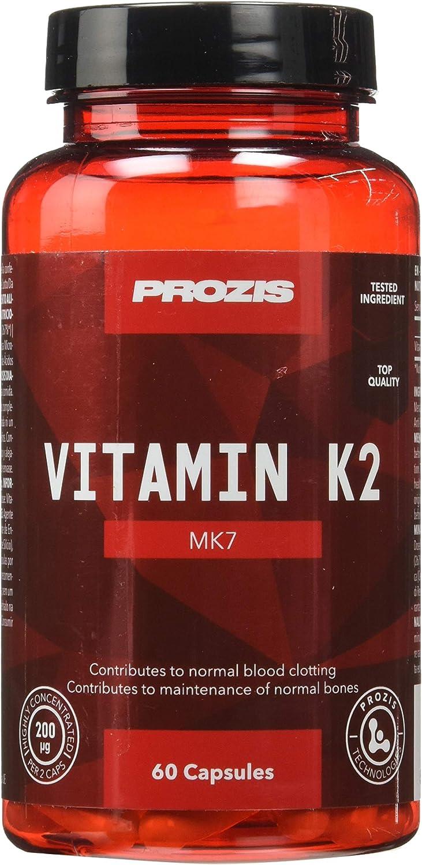 Prozis Vitamin K2-MK7 200mcg 60 caps: Amazon.es: Salud y ...