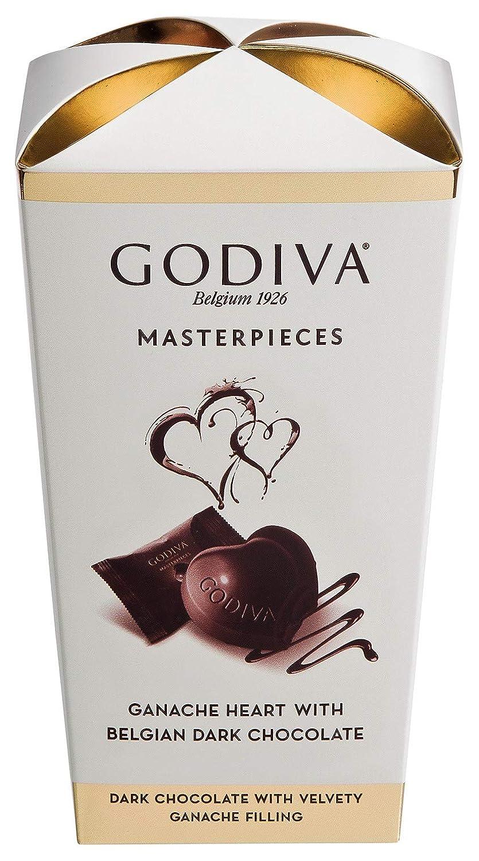 Godiva Masterpieces Ganache Heart With Belgian Dark Chocolate