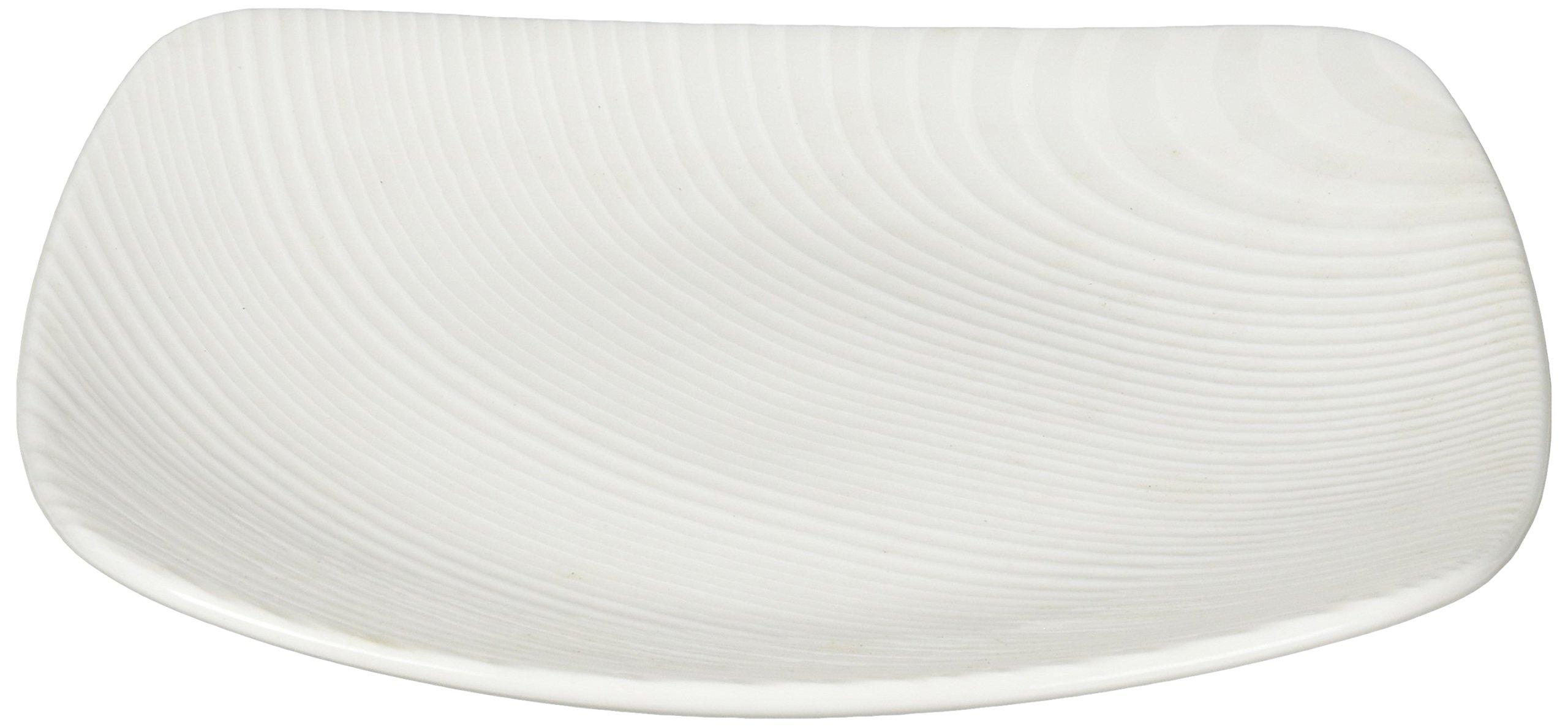 Noritake WOW Dune 6-1/2-Inch Square Plate, Mini