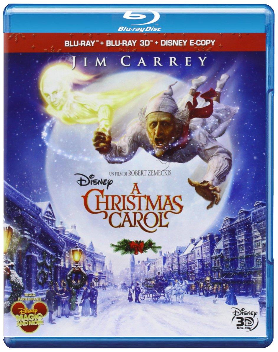 Amazon Com A Christmas Carol 2009 3d Blu Ray Blu Ray 3d E Copy Italian Edition Movies Tv