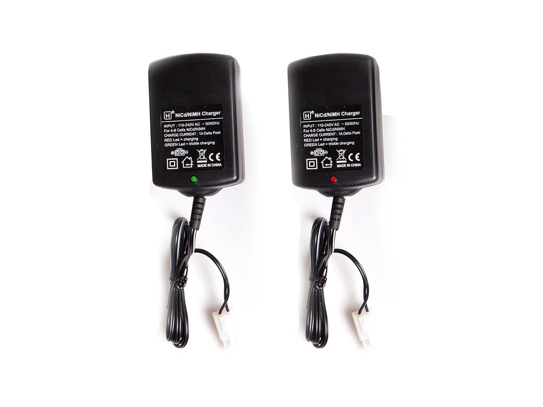 ASG 17620 Chargeur de Batterie Mixte Adulte, Noir ASGA8|#ASG