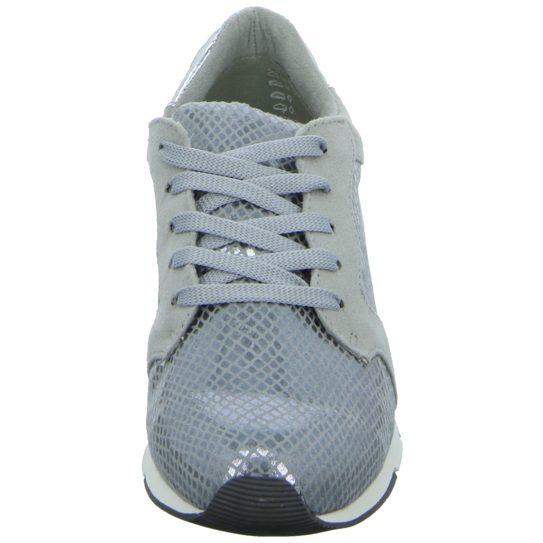 Tamaris Schuhe 1 1 23617 28 Bequeme Damen Sneaker, Schnürer, Halbschuhe, Sommerschuhe für modebewusste Frau,