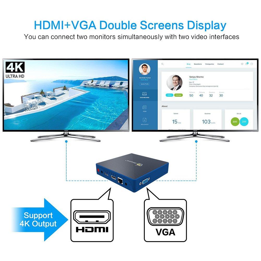 Beelink M1 Windows 10 Multi Media Desktop Full 4K HD H.265 Smart ...