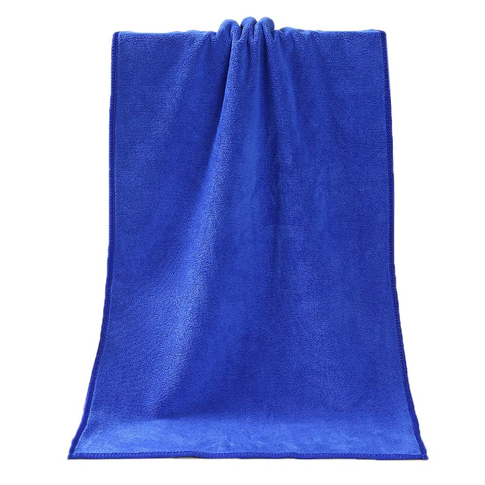 Iuhan Bath Tower, Bathing Towel Shower Absorbent Superfine Fiber Soft Comfortable Bath Towel (Blue) Iuhan ®