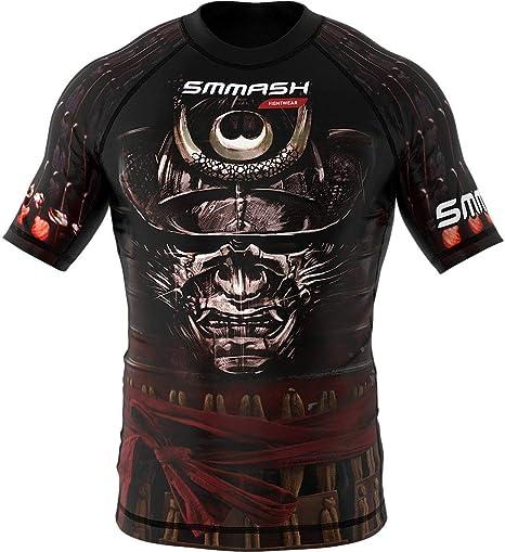 SMMASH Rashguard DARK KNIGHT longsleeve MMA BJJ UFC