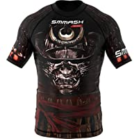 Rashguard SMMASH SAMURAI manga corta MMA BJJ UFC